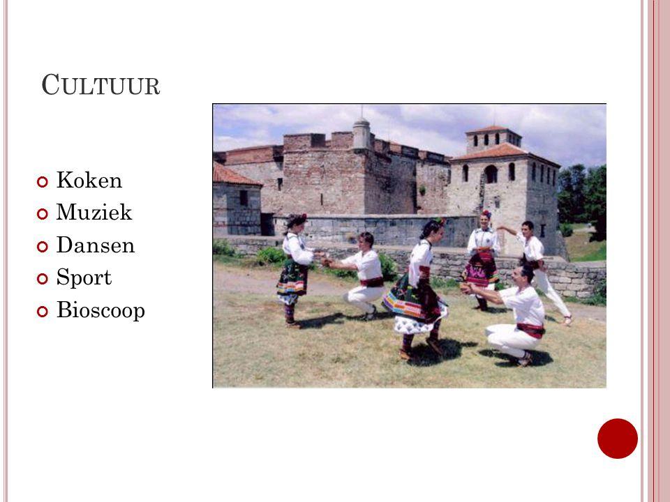 Cultuur Koken Muziek Dansen Sport Bioscoop