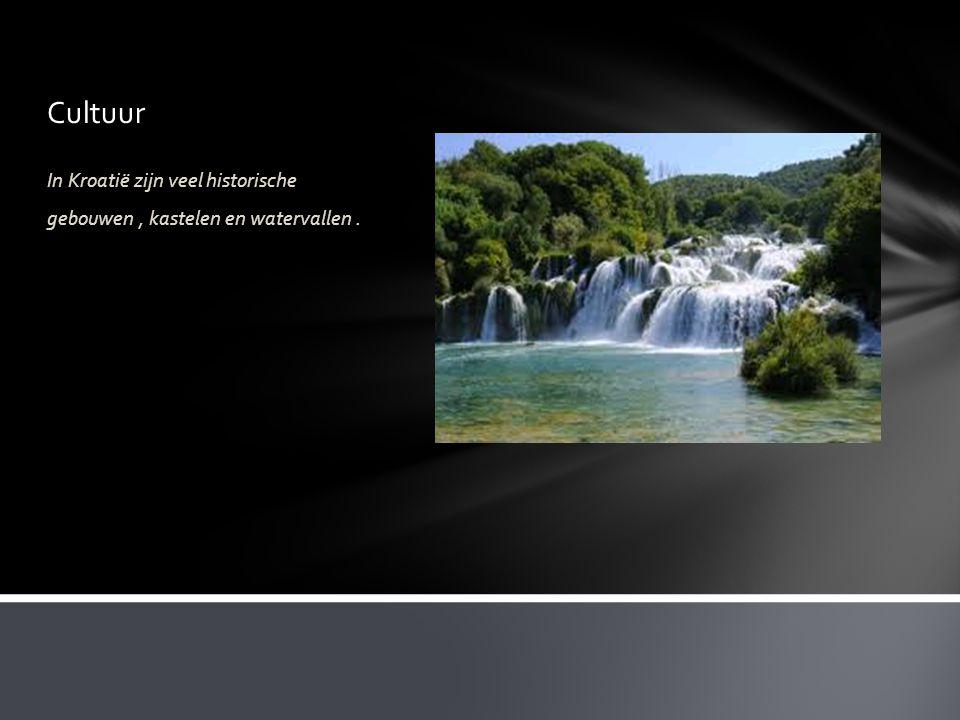 Cultuur In Kroatië zijn veel historische gebouwen , kastelen en watervallen .