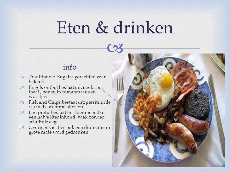 Eten & drinken info fotootje
