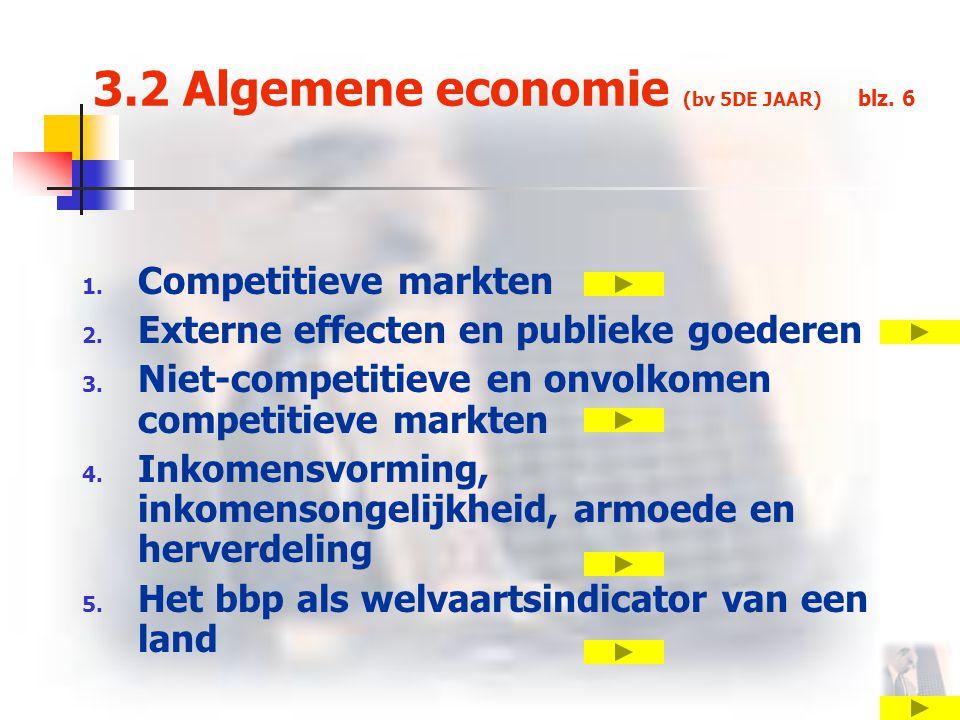 3.2 Algemene economie (bv 5DE JAAR) blz. 6