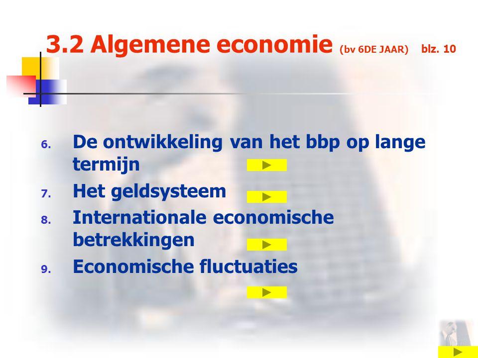 3.2 Algemene economie (bv 6DE JAAR) blz. 10