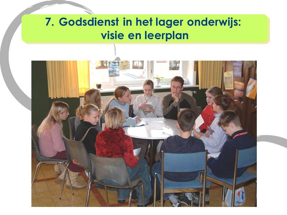 Godsdienst in het lager onderwijs: