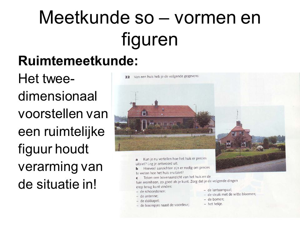Meetkunde so – vormen en figuren