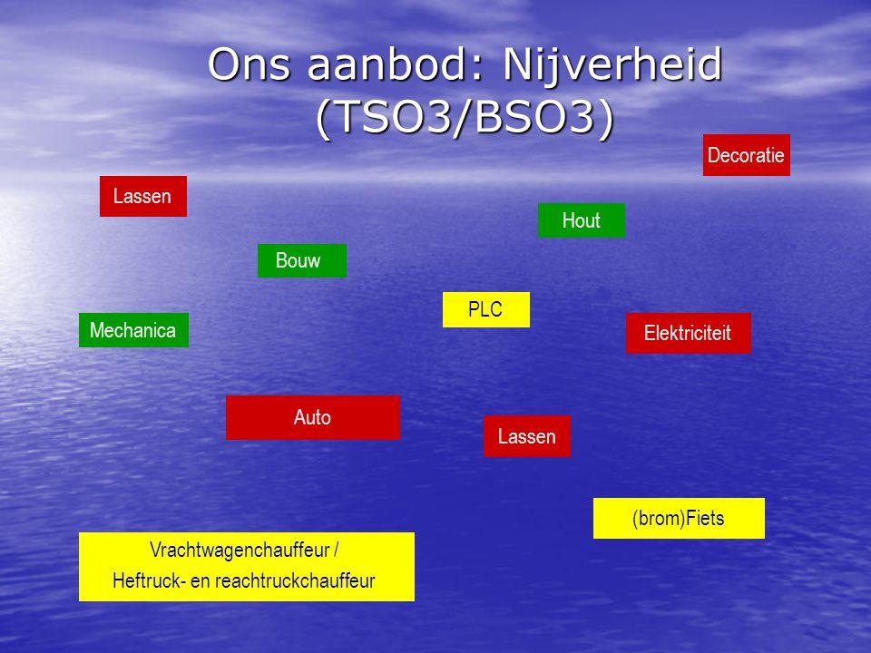 Ons aanbod: Nijverheid (TSO3/BSO3)