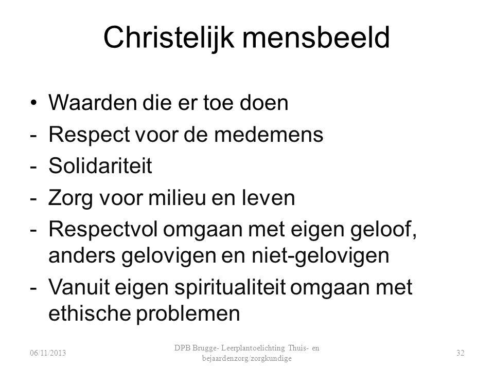 Christelijk mensbeeld