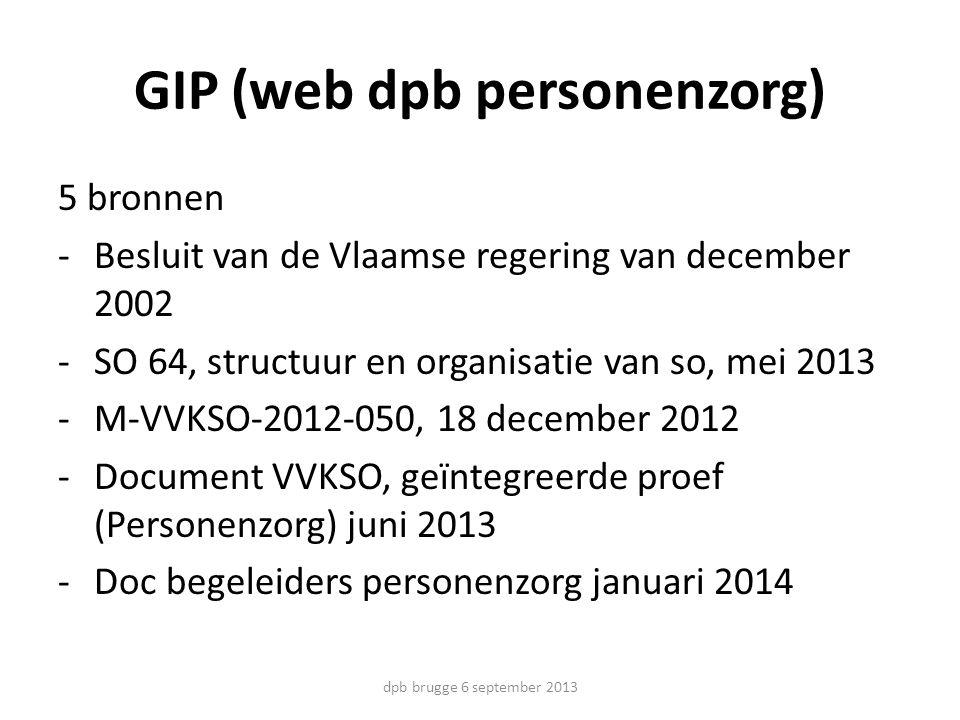 GIP (web dpb personenzorg)