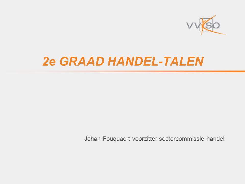 Johan Fouquaert voorzitter sectorcommissie handel