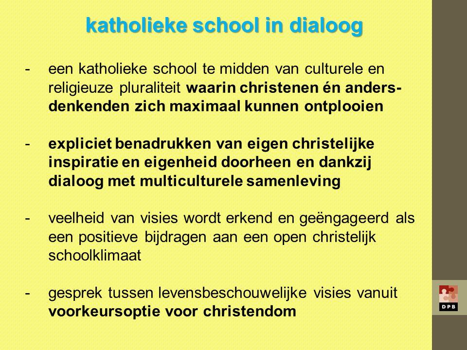 katholieke school in dialoog