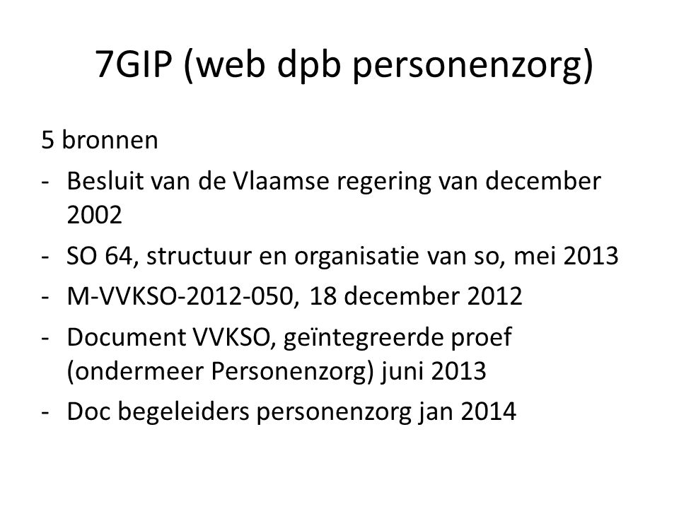 7GIP (web dpb personenzorg)