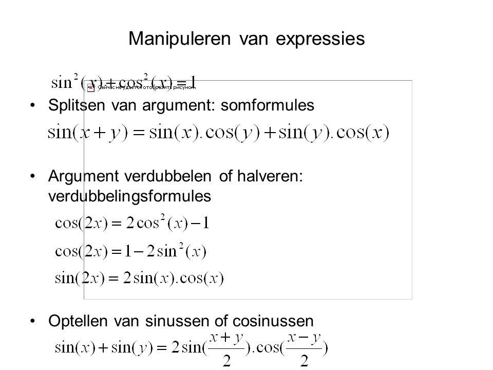 Manipuleren van expressies