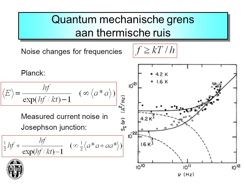Quantum mechanische grens aan thermische ruis
