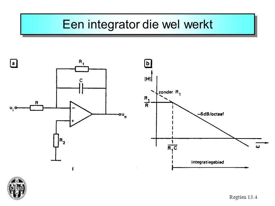 Een integrator die wel werkt