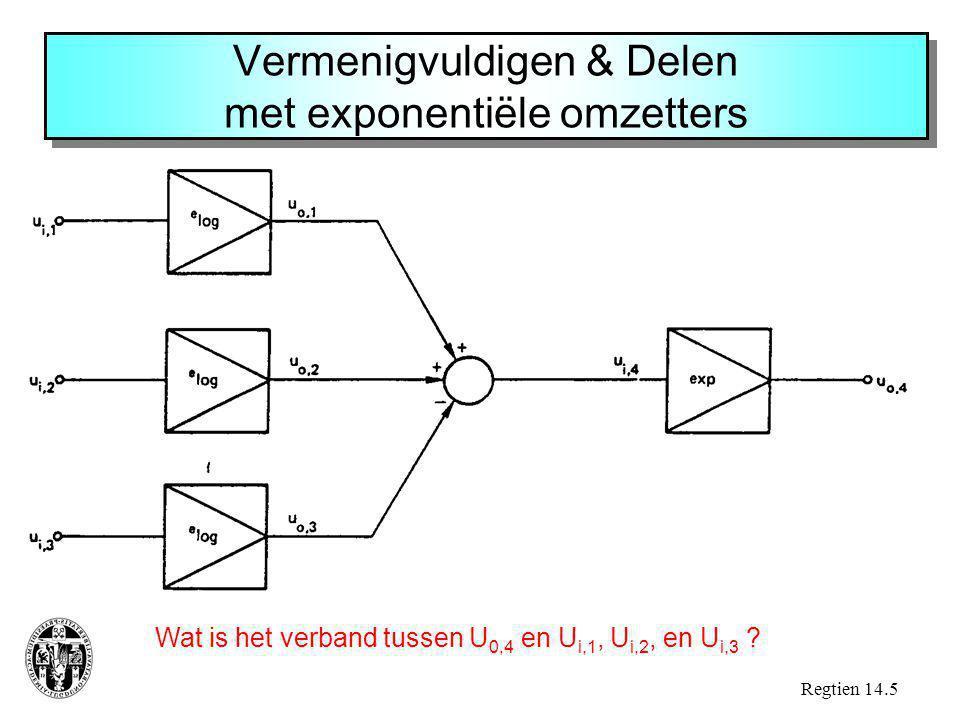 Vermenigvuldigen & Delen met exponentiële omzetters