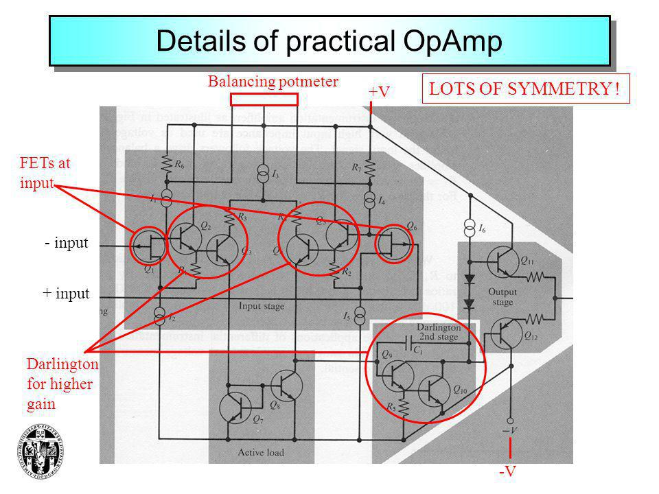 Details of practical OpAmp