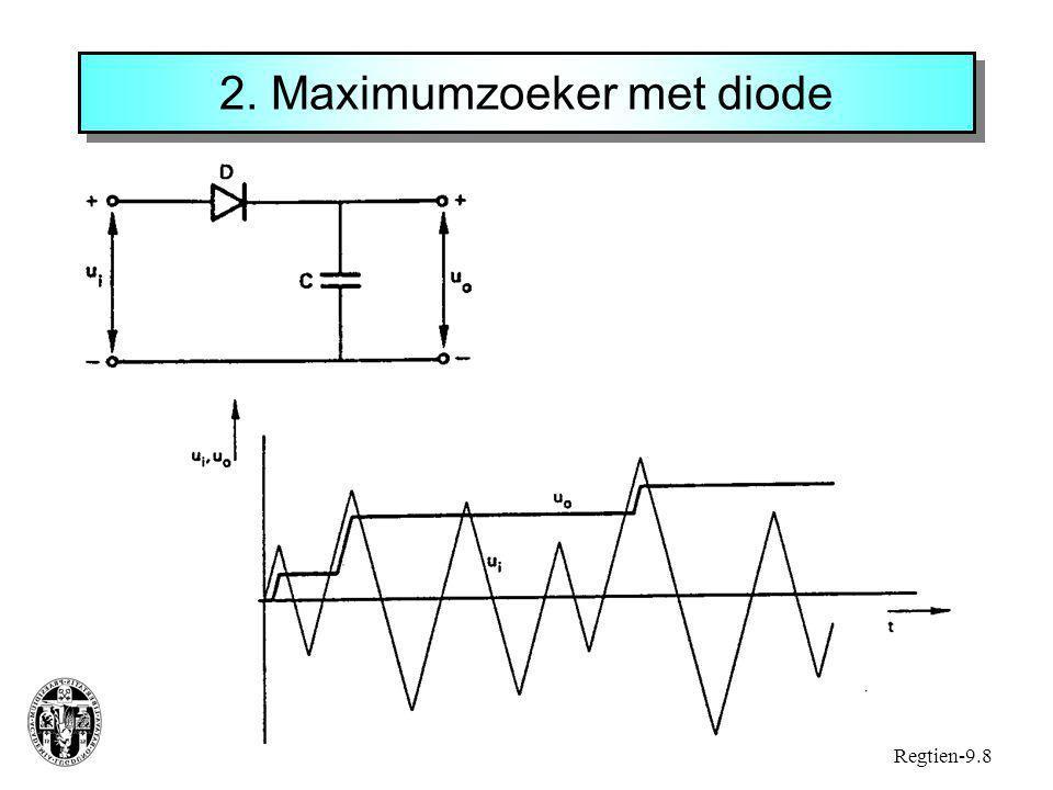 2. Maximumzoeker met diode
