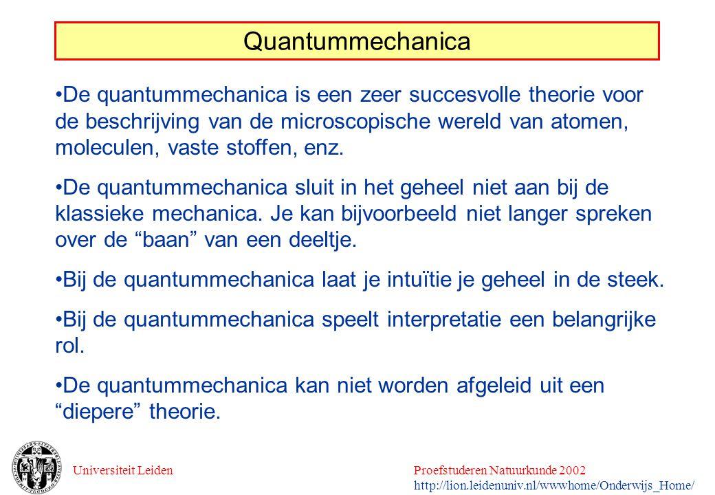 Quantummechanica