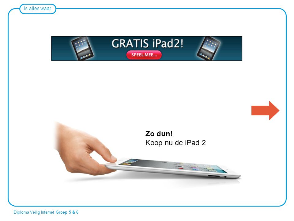 Zo dun! Koop nu de iPad 2.