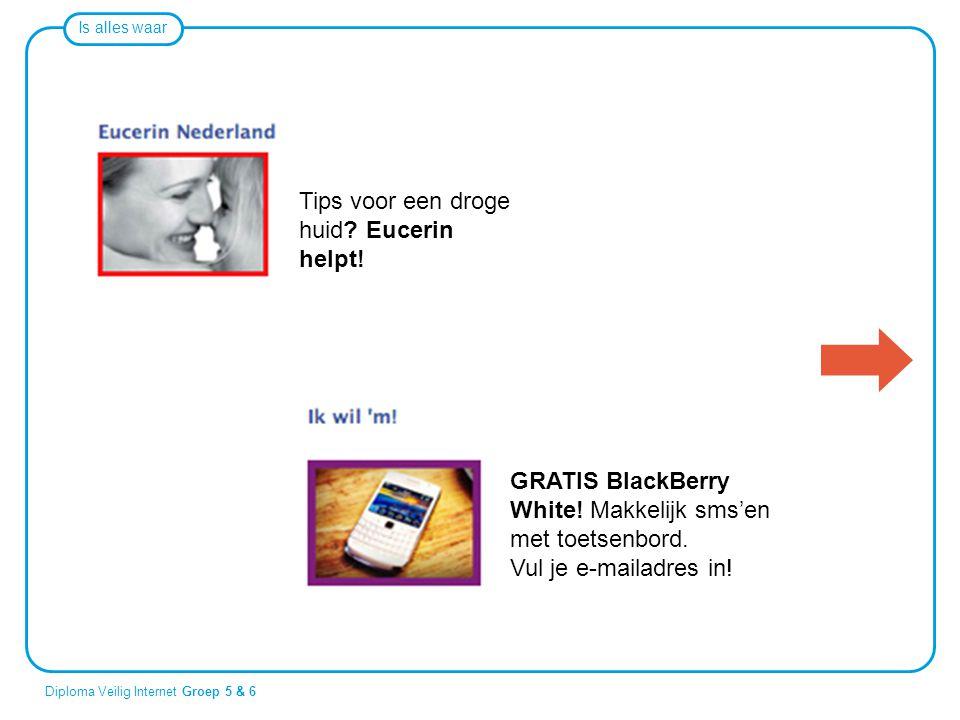 Tips voor een droge huid Eucerin helpt!