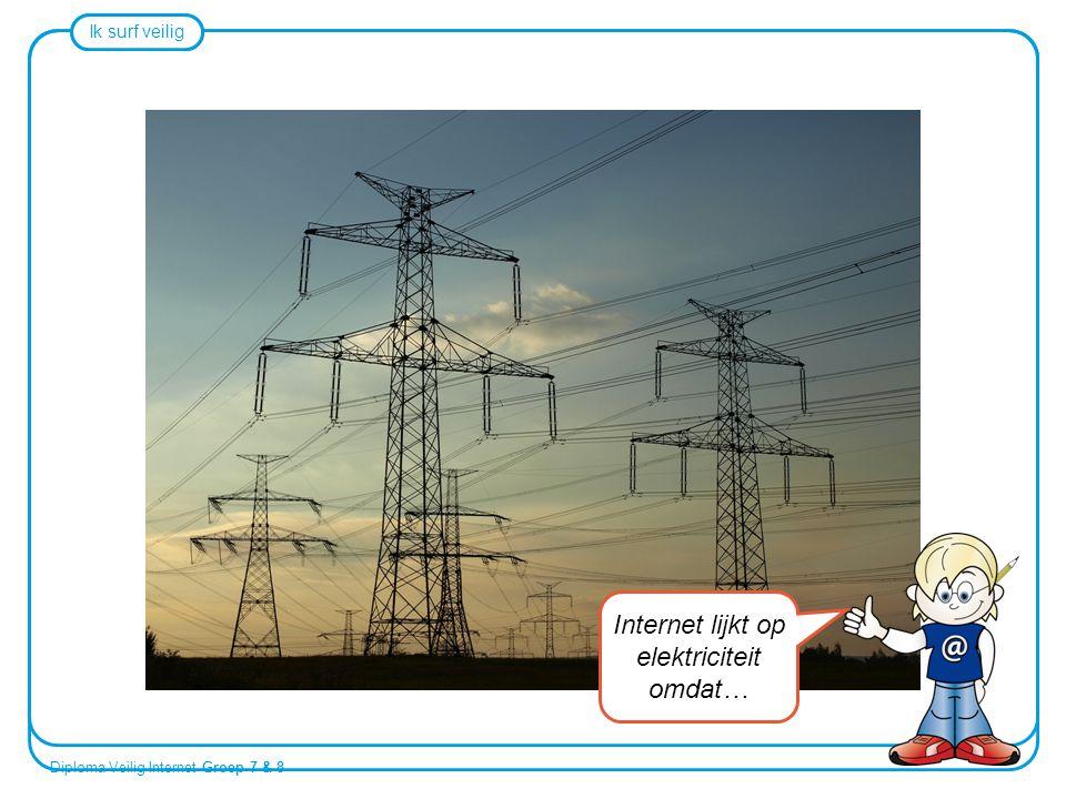 Internet lijkt op elektriciteit omdat…