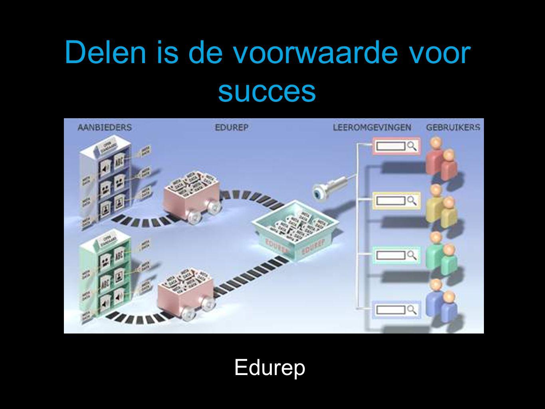Delen is de voorwaarde voor succes