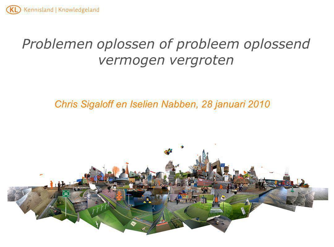 Problemen oplossen of probleem oplossend vermogen vergroten