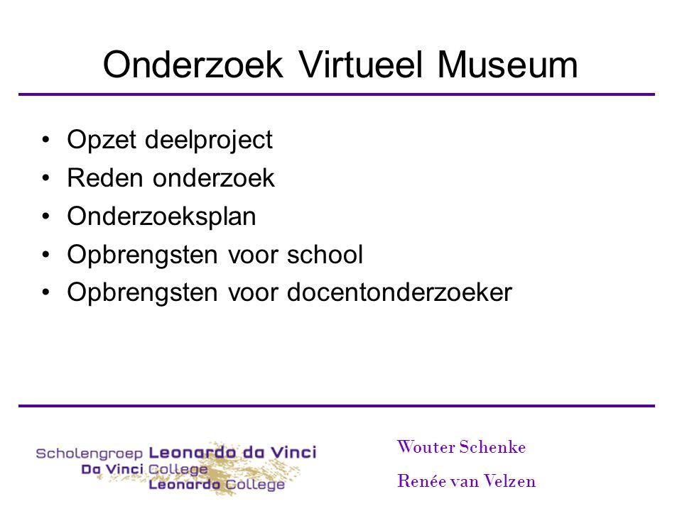 Onderzoek Virtueel Museum