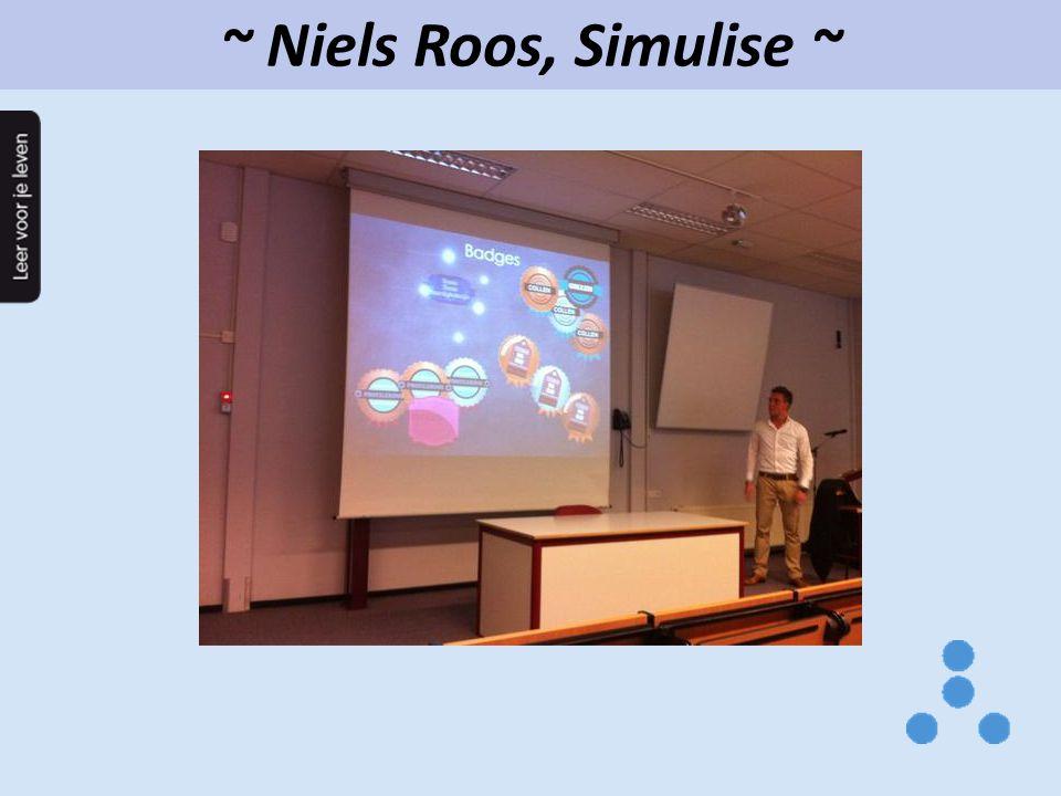 ~ Niels Roos, Simulise ~