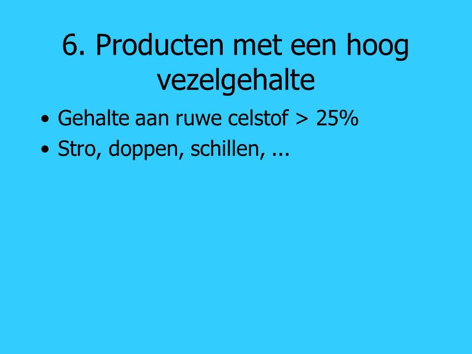 6. Producten met een hoog vezelgehalte
