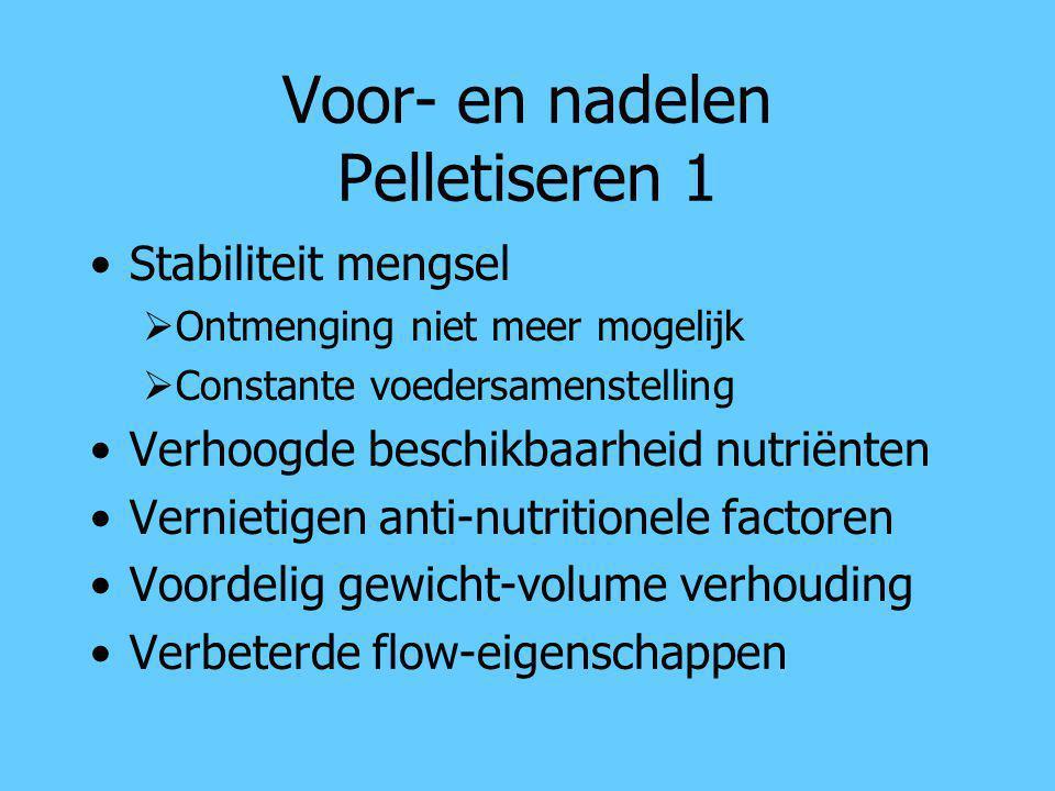 Voor- en nadelen Pelletiseren 1