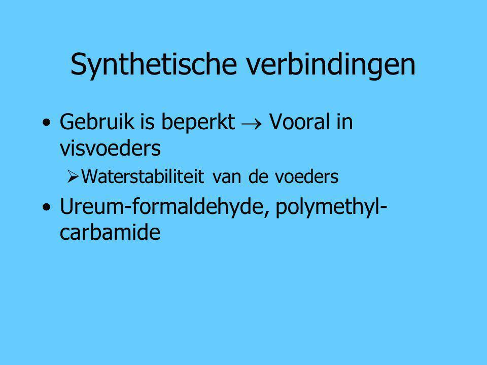 Synthetische verbindingen