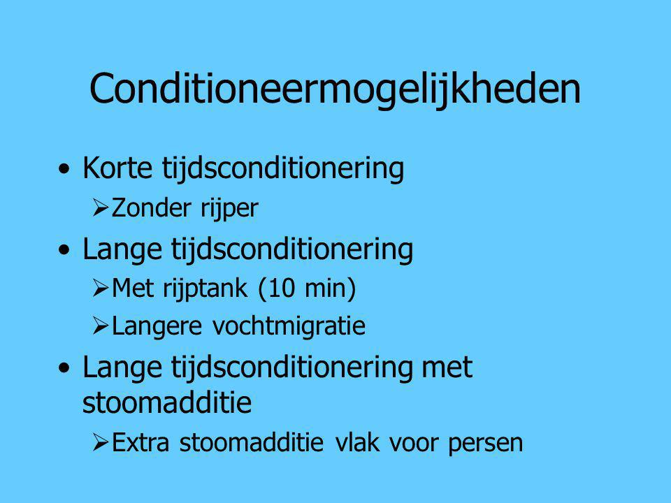 Conditioneermogelijkheden