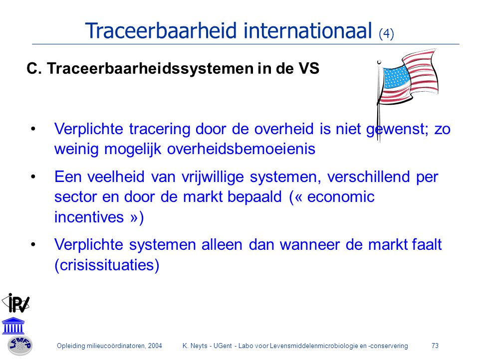Traceerbaarheid internationaal (4)