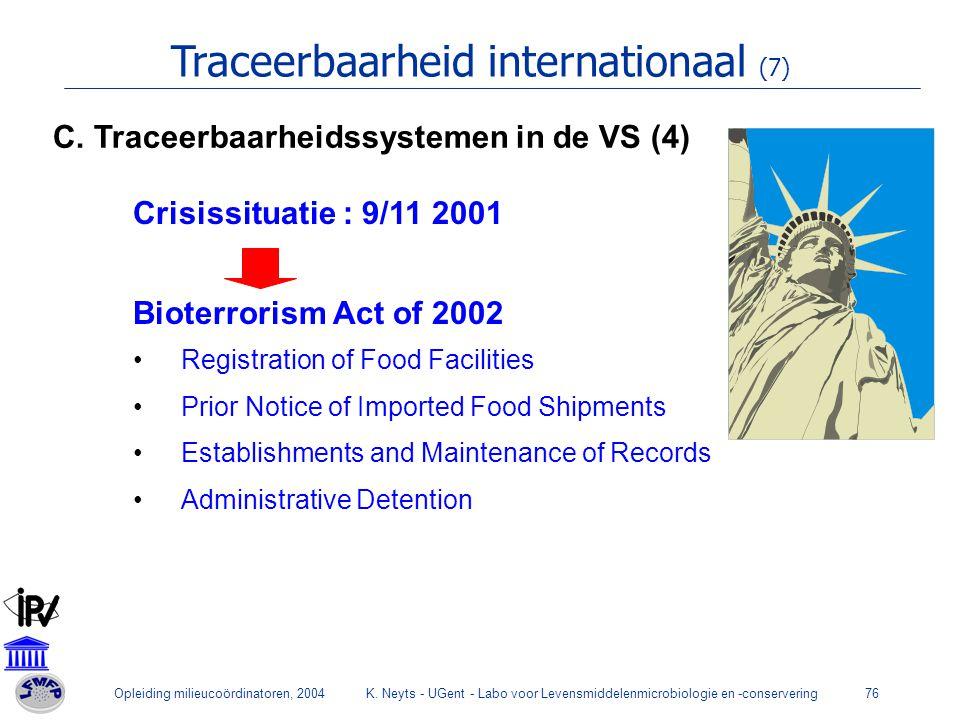 Traceerbaarheid internationaal (7)