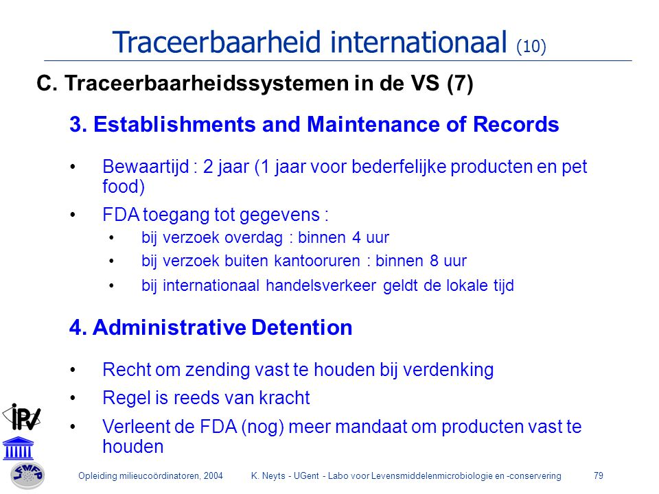 Traceerbaarheid internationaal (10)