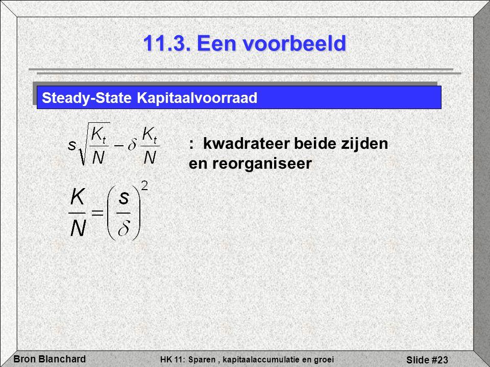 11.3. Een voorbeeld : kwadrateer beide zijden en reorganiseer