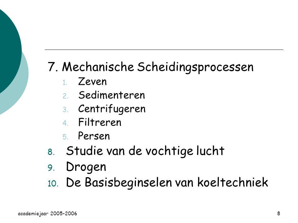 7. Mechanische Scheidingsprocessen