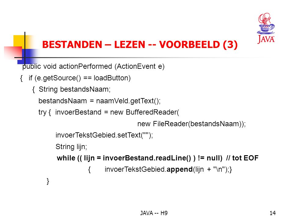 BESTANDEN – LEZEN -- VOORBEELD (3)