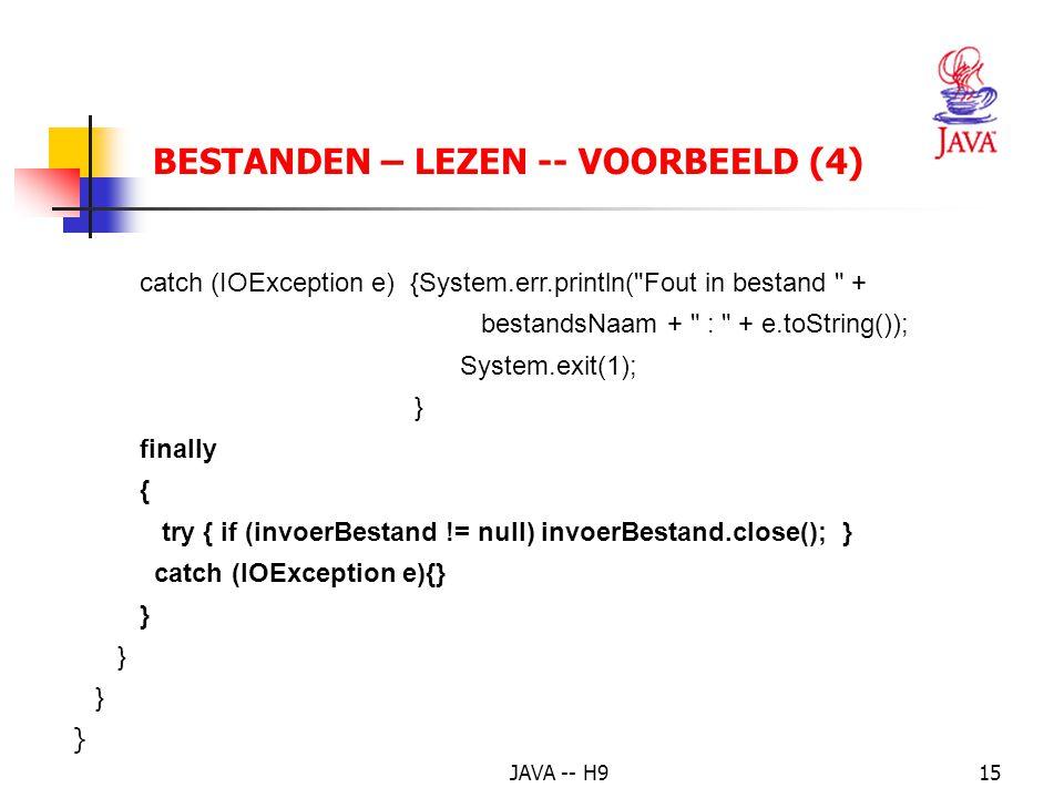 BESTANDEN – LEZEN -- VOORBEELD (4)