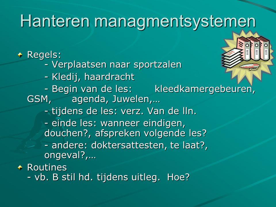Hanteren managmentsystemen