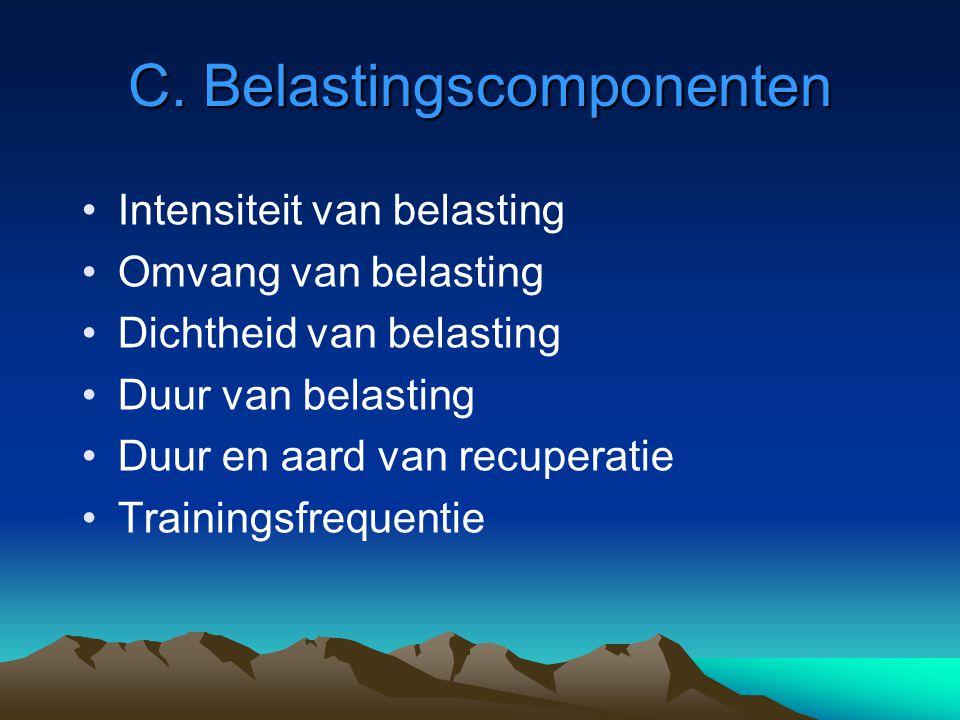 C. Belastingscomponenten