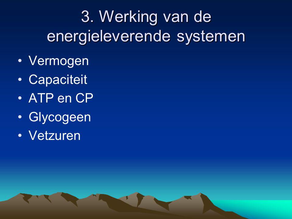 3. Werking van de energieleverende systemen