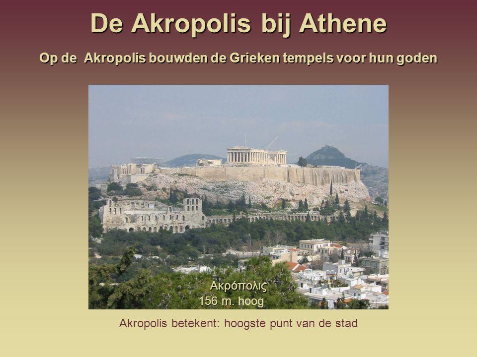 De Akropolis bij Athene