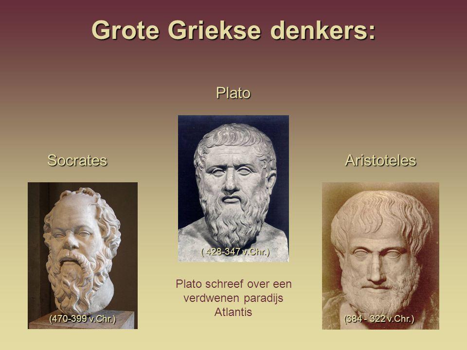 Grote Griekse denkers: