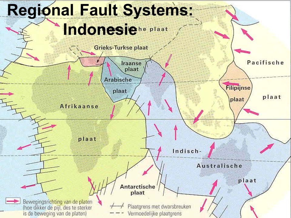 Regional Fault Systems: Indonesie