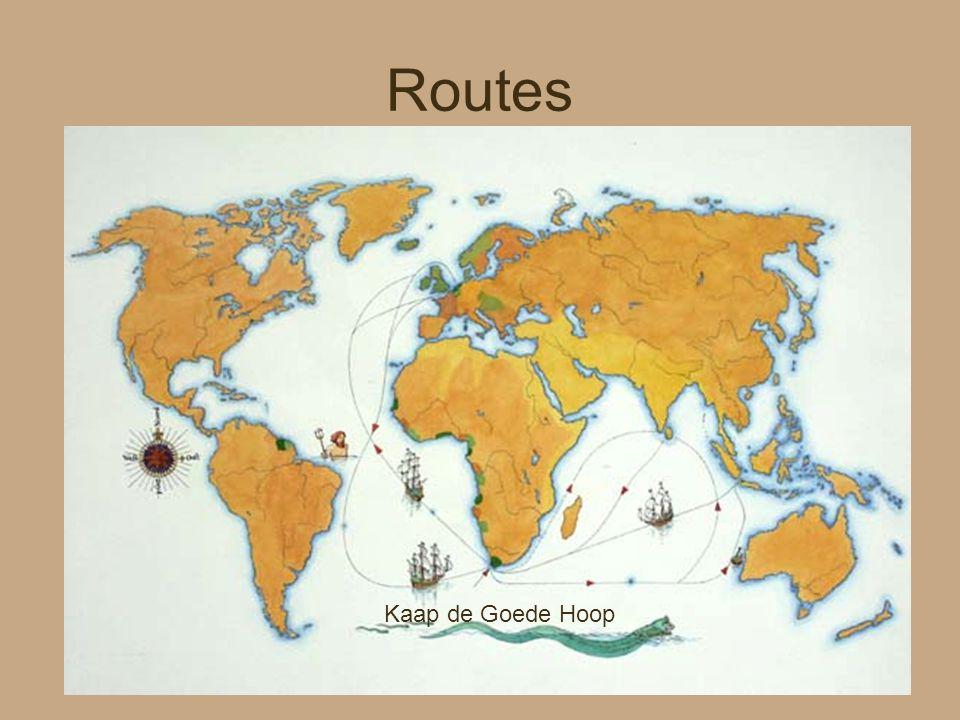 Routes Kaap de Goede Hoop