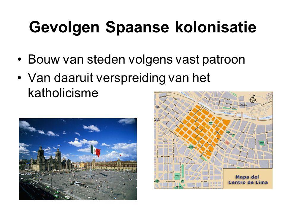Gevolgen Spaanse kolonisatie