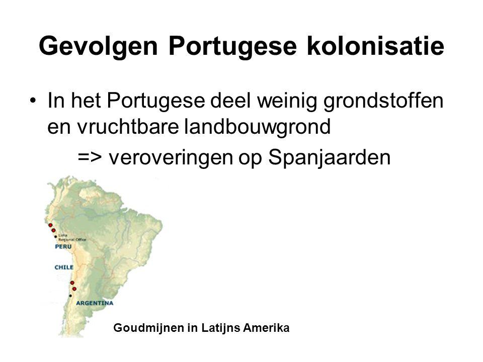 Gevolgen Portugese kolonisatie