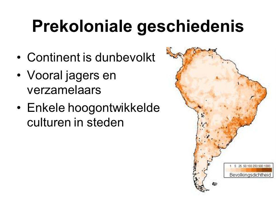 Prekoloniale geschiedenis