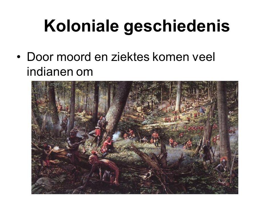 Koloniale geschiedenis