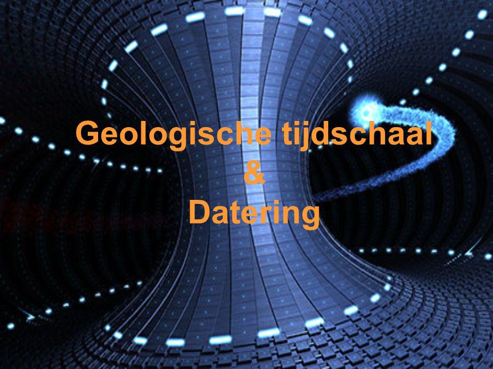 Geologische tijdschaal & Datering